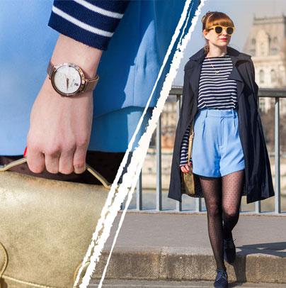 Découvrez le look proposé par AlysonMarion accordé avec la montre femme 097M908
