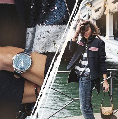 Découvrez le look proposé par les babioles de Zoé accordé avec la montre femme 095M689 Pierre Lannier