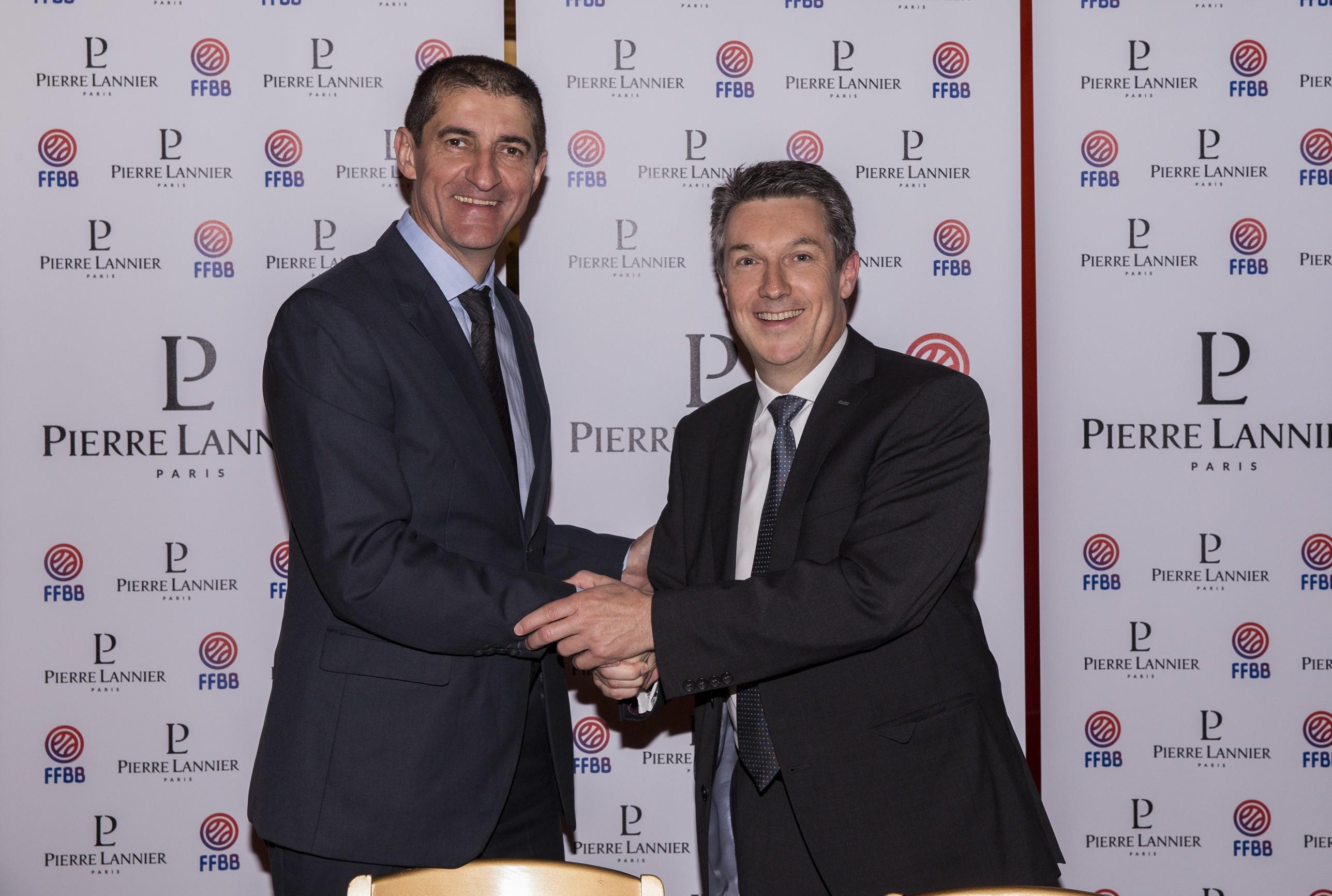 Partenariat entre la FFBB et Pierre Lannier