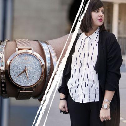 Découvrez le look proposé par Modeusement votre accordé avec la montre femme 097M908