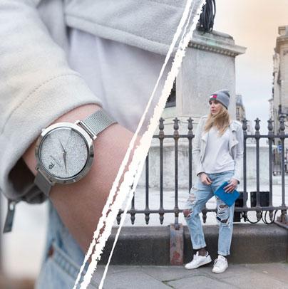 Découvrez le look proposé par Oh my dexy accordé avec la montre femme 095M608