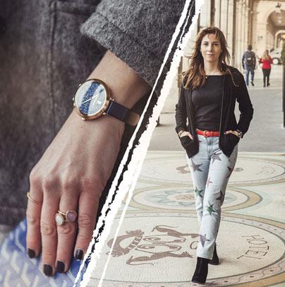 Découvrez le look proposé par Ombeline's tips accordé avec la montre femme 097M966